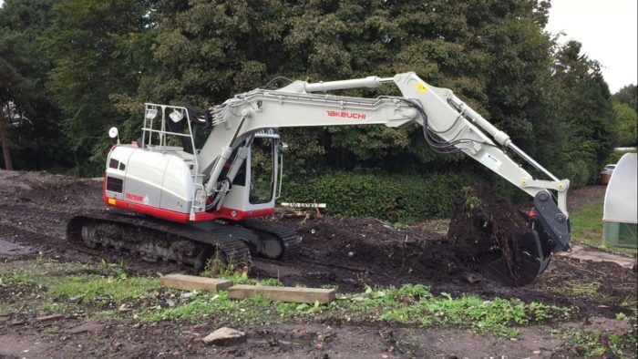 Takeuchi TB2150 Excavator sold at demo ground!!